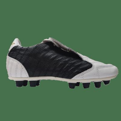 Leo Sport New Platinum P.U. stoplis focicipő, fehér-fekete