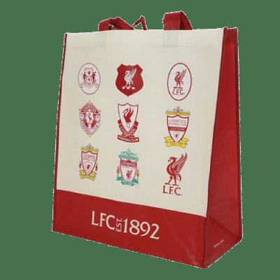 Liverpool FC bevásárló szatyor