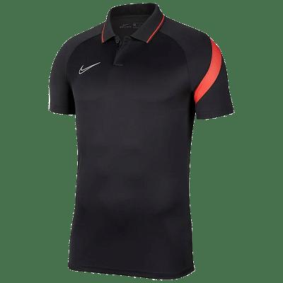 Nike Academy Pro galléros póló, fekete-piros