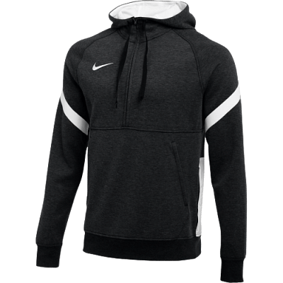 Nike Dri-FIT Strike Fleece 1/2 cipzáros melegítő felső, fekete-fehér
