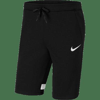 Nike Dri-FIT Strike Men Fleece rövidnadrág, fekete-fehér