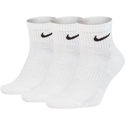 Nike Everyday Cushioned Training bokazokni, fehér, 3 pár