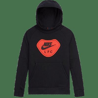 Nike Liverpool FC kapucnis melegítőfelső, gyerekméret