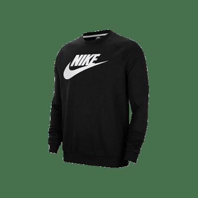Nike Sportswear Fleece Crew melegítőfelső, fekete