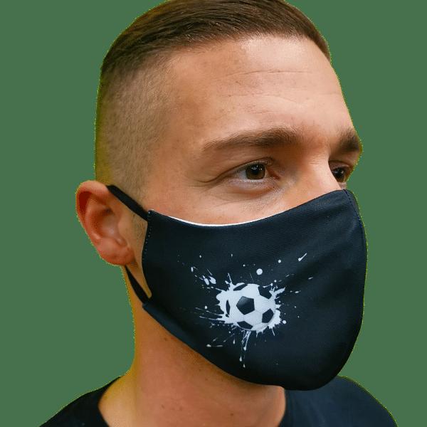 Focivilág mosható szájmaszk