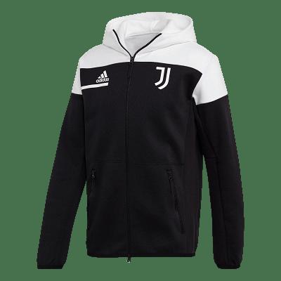 Adidas Juventus FC kabát, fekete