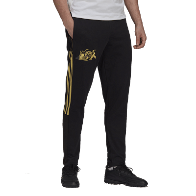 Adidas Juventus CNY Sweat edző nadrág, fekete-sárga