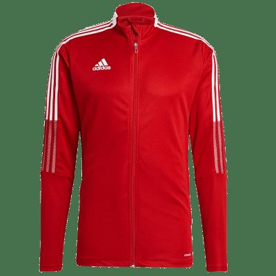 Adidas Tiro 21 melegítő felső, piros