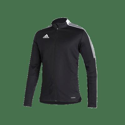 Adidas Tiro 21 melegitő felső, fekete