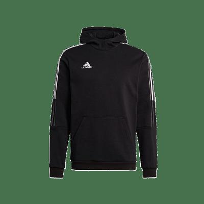 Adidas Tiro 21 kapucnis pulóver, fekete