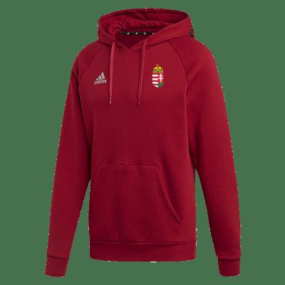 Adidas Magyar válogatott kapucnis szabadidőfelső, piros