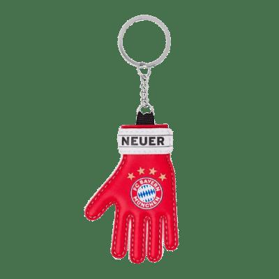 Bayern München kulcstartó, kapuskesztyűs