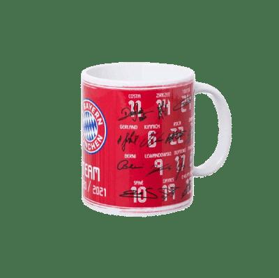 Bayern München aláírt bögre