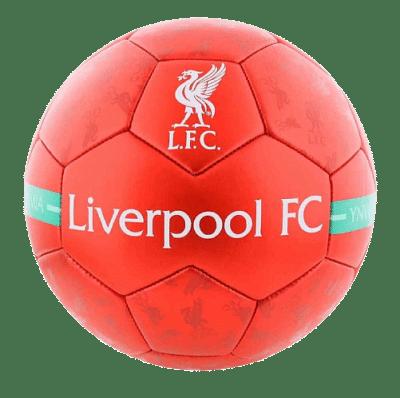 Liverpool labda, piros