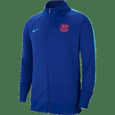 Nike FC Barcelona JDI zipzáros melegítő felső, kék