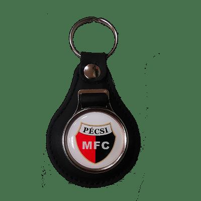 PMFC bőr kulcstartó