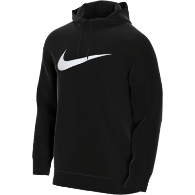 Nike Nike Dri-FIT kapucnis pulóver, fekete