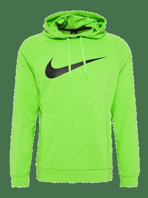 Nike Nike Dri-FIT kapucnis pulóver, zöld