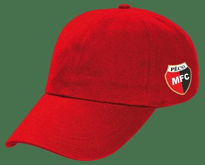 Macron PMFC baseball sapka, piros