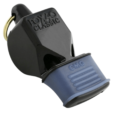 FOX 40 Classic CMG fogvédős síp, fekete
