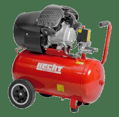 Hecht 2353 kéthengeres olajos kompresszor