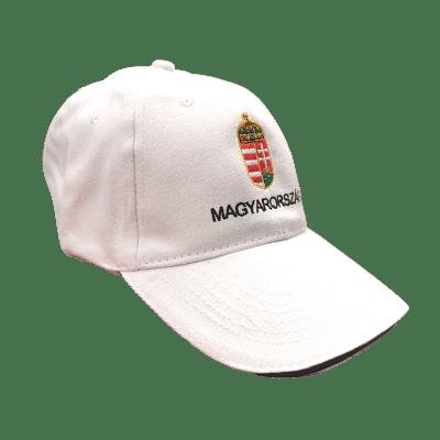 Magyarország baseball sapka, fehér