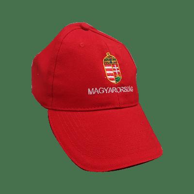 Magyarország baseball sapka, piros