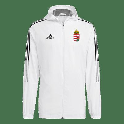 Adidas Magyar válogatott szurkolói széldzseki, fehér