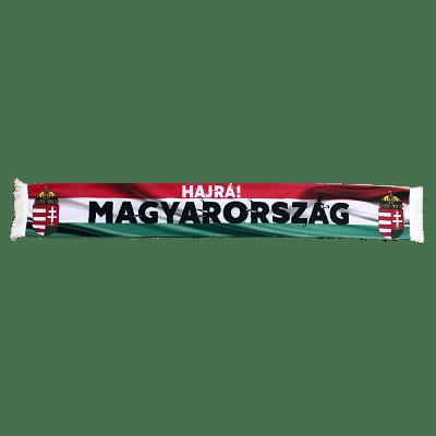 Magyarország szurkolói sál, selyem