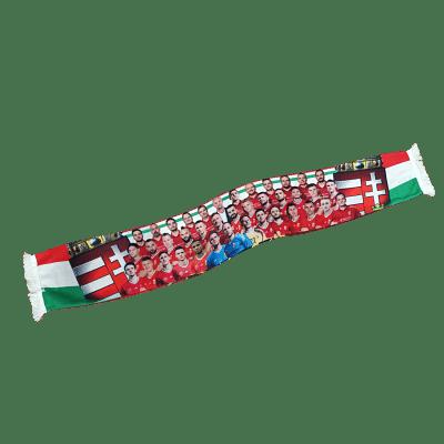 Magyar válogatott szurkolói sál, kötött