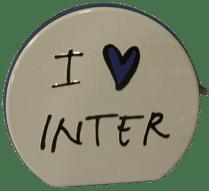 FC Internazionale CD tartó, fehér