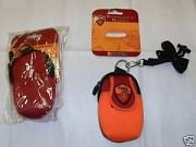 AS Roma mobiltelefontartó, narancs-bordó