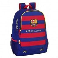 FC Barcelona hátizsák, sávos, címerrel