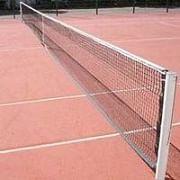 Teniszháló acélsodronnyal