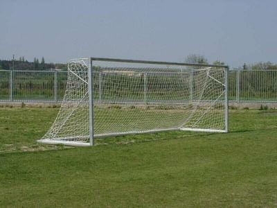 7,32 x 2,44 m-es labdarúgó kapu, alumínium, hordozható