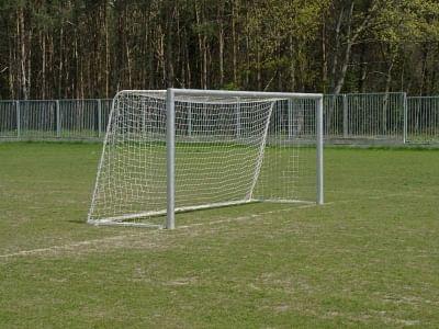 5x2m labdarúgó kapu, alumínium, hordozható